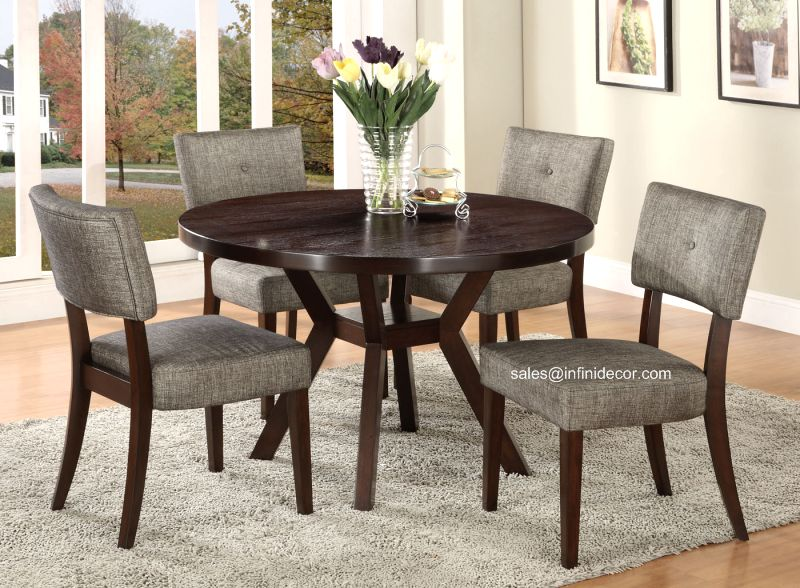Round Kitchen Table and Chairs | eBay
