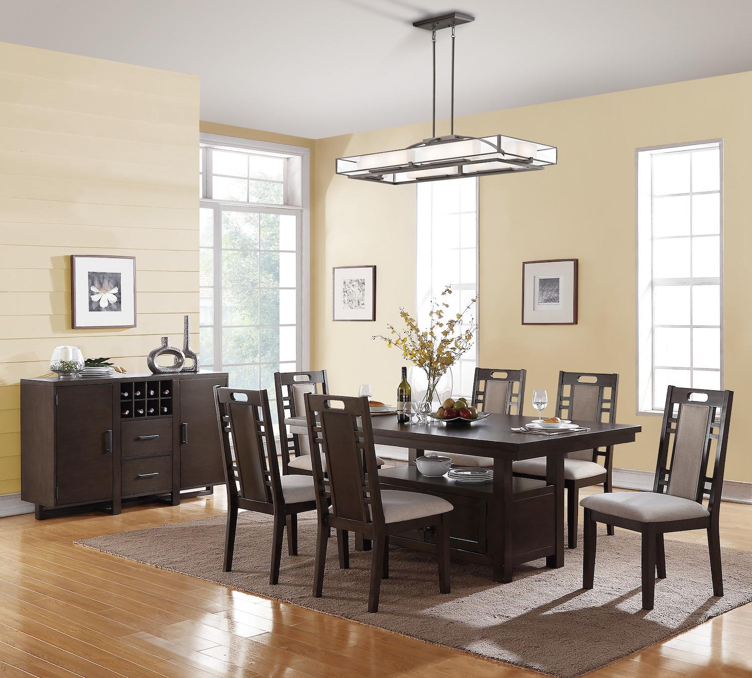 Amable 7 Piece Dining Set