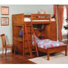 Bunks Workstation Twin Bunk Bed